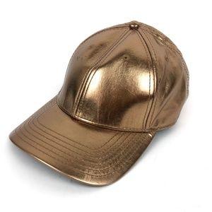 Gents Co. Men's Hat Gold Tone One Adjustable Back